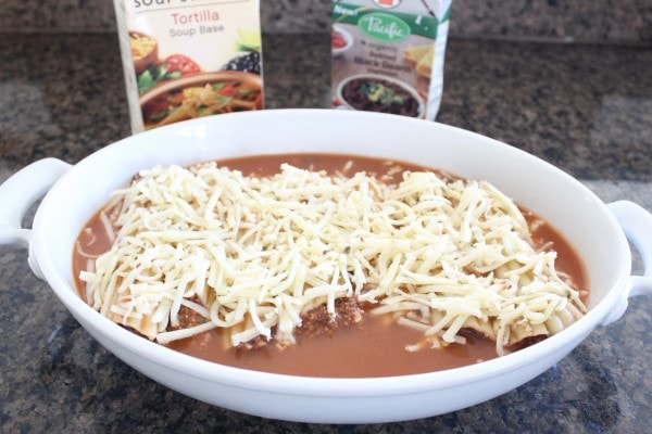Bean and Cheese Mexican Manicotti