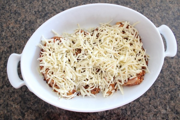 Mexican Style Chicken Parmesan Recipe