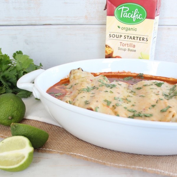 with Pacific Foods Tortilla Soup Starter