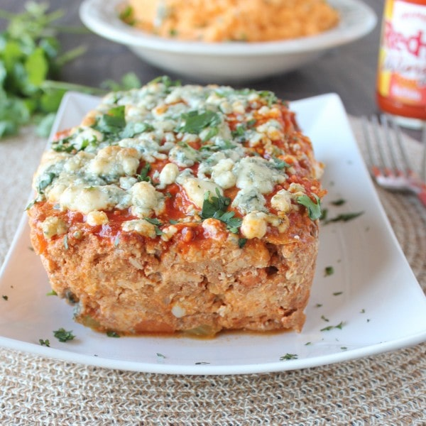 Buffalo Chicken and Pork Meatloaf Recipe