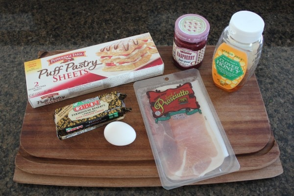 Puff Pastry Monte Cristo Ingredients