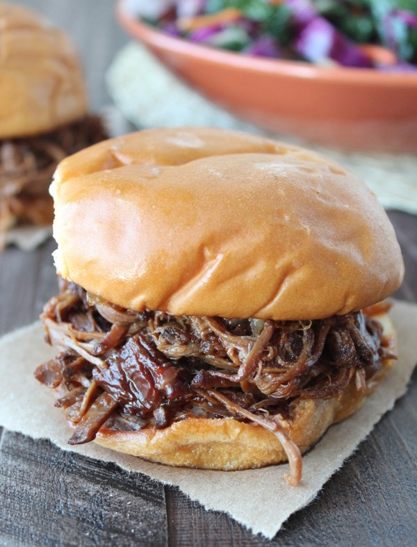 Slow Cooked Chipotle Apple BBQ Brisket Recipe