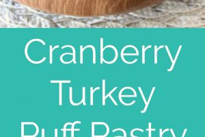 This scrumptious puff pastry recipe is filled with cream cheese, turkey and cranberry relish, perfect for putting those Thanksgiving leftovers to use!