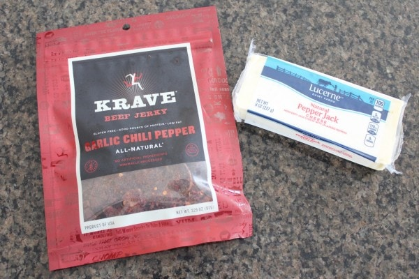 Beef Jerky and Cheese Skewer Recipe