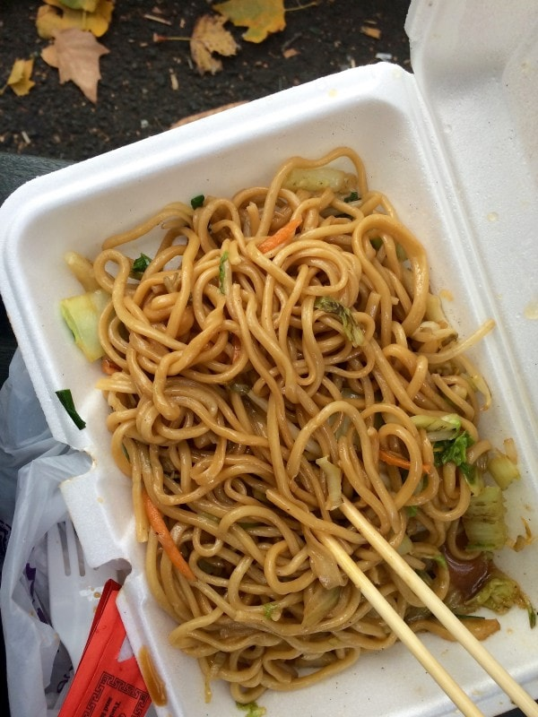 Chinese Hand Pulled Noodles in Chinatown, NYC