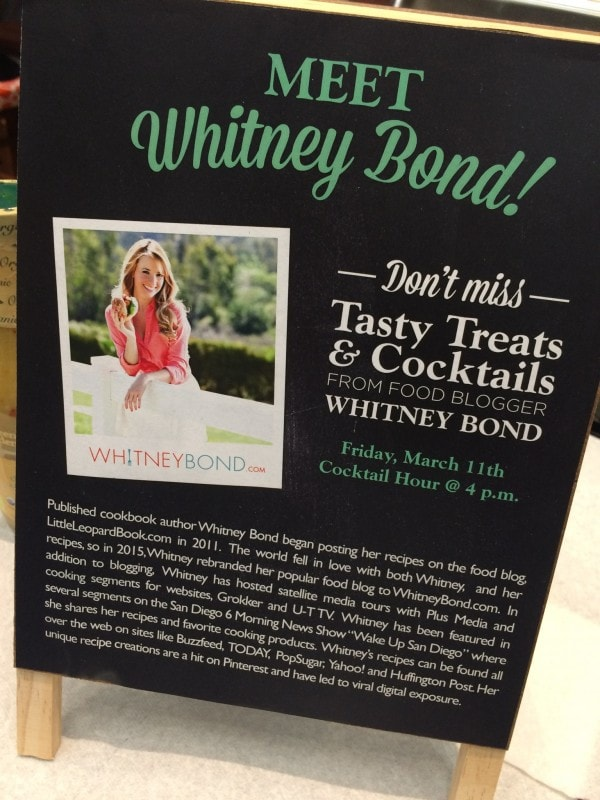 Whitney Bond with Litehouse Foods