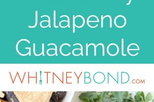 Fresh blackberries & jalapenos are combined in this simple & delicious guacamole recipe that's perfect for dipping up all summer long or serving on tacos!