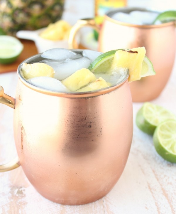 Grilled Pineapple Moscow Mule Recipe