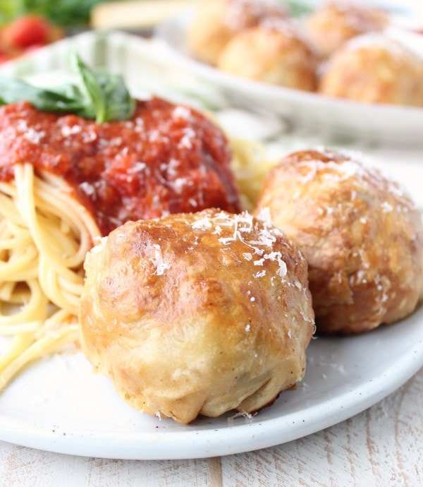 Puff Pastry Wrapped Meatball Recipe