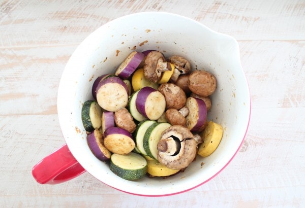 Grilled Vegetable Lo Mein Recipe