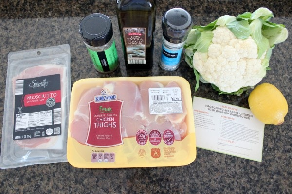 Prosciutto Wrapped Chicken Ingredients