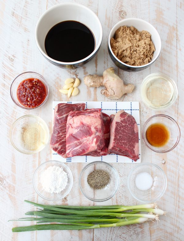 The most delicious homemade Korean BBQ sauce is tossed with boneless short ribs and either grilled or sous vide for a scrumptious and easy meal!