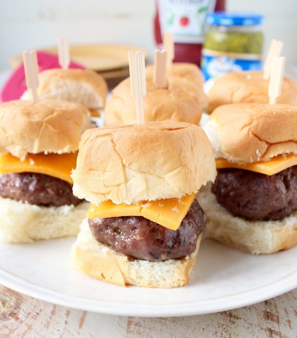 Sous vide burger sliders are easy to make, with very little prep, and will result in the most flavorful, juicy burgers you've ever had!