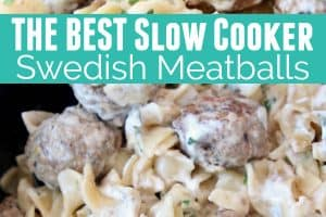 Swedish meatballs in creamy sauce with egg noodles