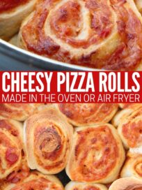 cooked pepperoni cheese pizza rolls