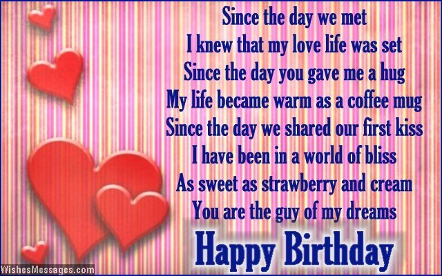 Birthday Poems For Him 3