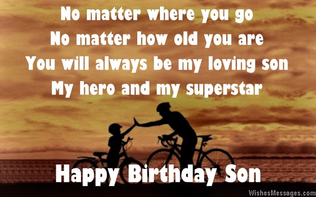 Poems For Son Birthday 7