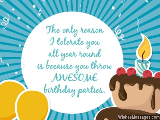 Funny Birthday Wishes Humorous Quotes And Messages Wishesmessages Com