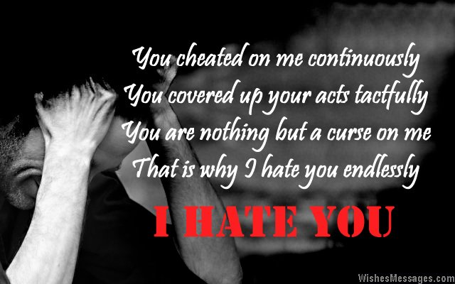 I Hate You Poems 5