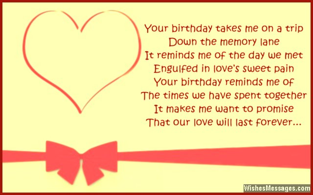 Birthday Poems For Girlfriend 3