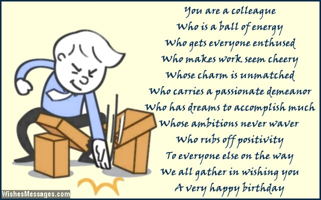 Birthday Poems For Colleagues Page 2 Wishesmessages Com