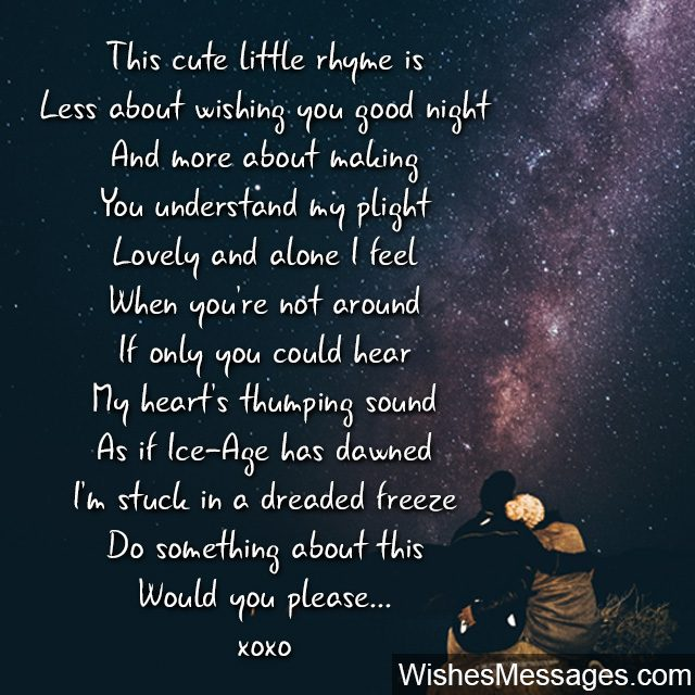 Good Night Poems For Her 6