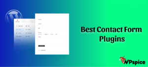 WP Spice Best Contact Form Plugins for WordPress