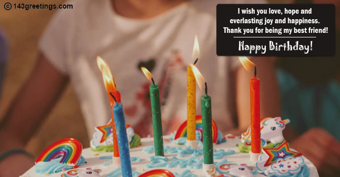 Best Birthday Wishes For Friend Female 143 Greetings
