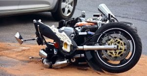 motorcycle accident resulting in injuries