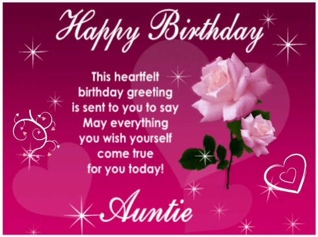Top 50 Happy Birthday Aunt Quotes Wishes And Messages 9 Happy Birthday