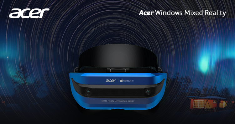 acer windows headset mixed reality