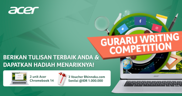 Guraru Writing Competition 2017
