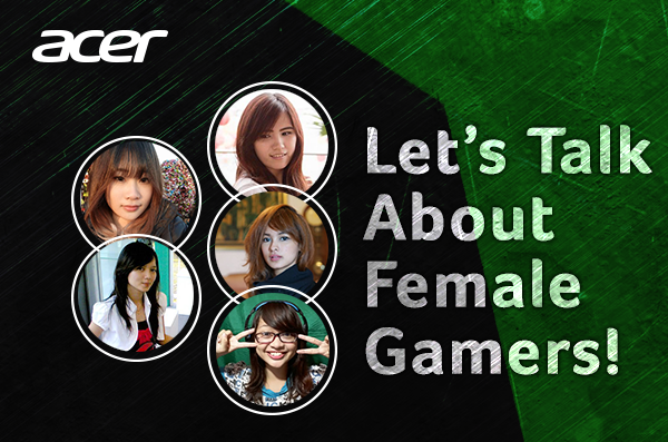 Let's Talk About Female Gamers!