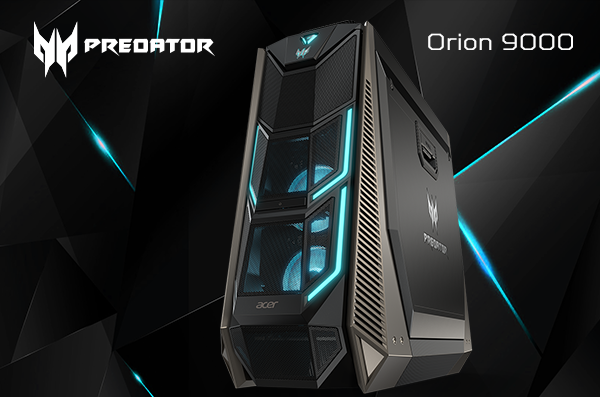 Predator Orion 9000, Powerful Gaming PC with Awesome Look!