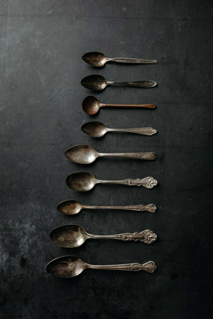 Mixed Spoons Essential Food Photography Props