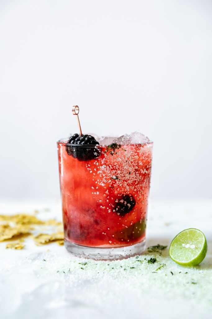 Blackberry Basil Margarita