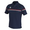 Errea Dominic Polo Shirt Navy Red White
