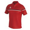 Errea Dominic Polo Shirt Red Black White
