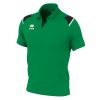 Errea Luis Polo Shirt Green Black White