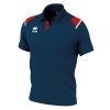 Errea Luis Polo Shirt Navy Red White