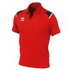 Errea Luis Polo Shirt Red Black White