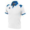 Errea Luis Polo Shirt White Blue Navy