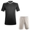 Acerbis Belatrix Short Sleeve Football Kit Black White