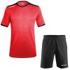 Acerbis Belatrix Short Sleeve Football Kit Red Black