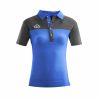 Acerbis Belatrix Womens Polo Shirt Blue Grey
