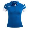 Acerbis Kemari Womens Polo Shirt Blue White