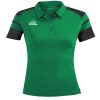 Acerbis Kemari Womens Polo Shirt Green Black