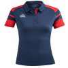 Acerbis Kemari Womens Polo Shirt Navy Red