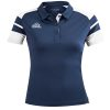 Acerbis Kemari Womens Polo Shirt Navy White