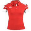 Acerbis Kemari Womens Polo Shirt Red White